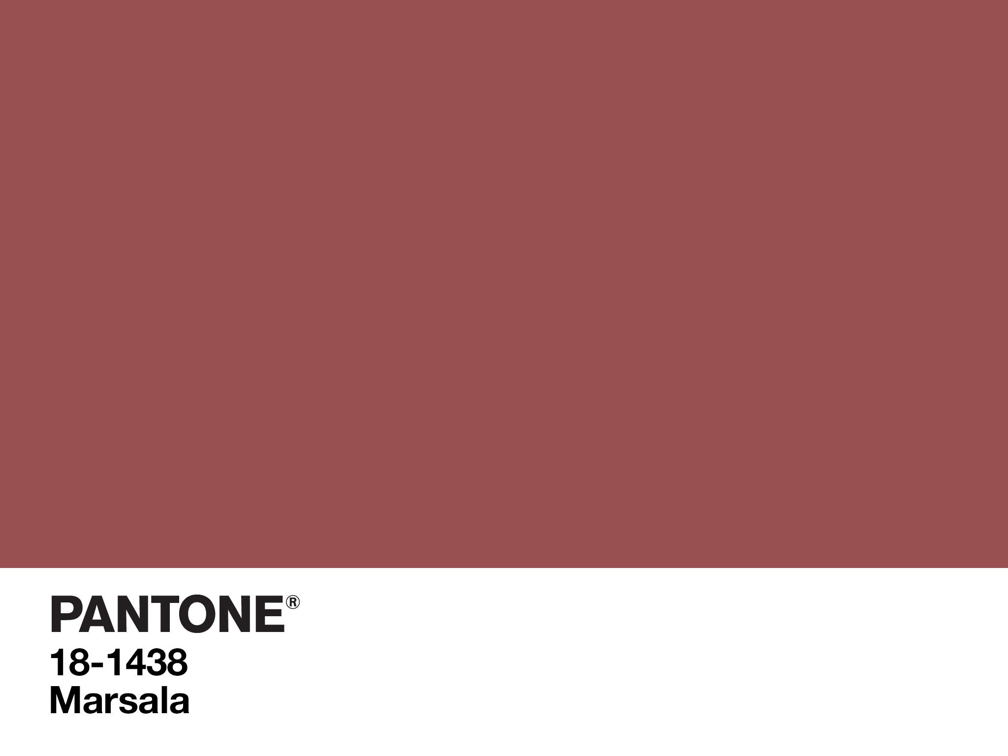 kolor marsala instytut pantone