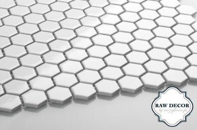 kafelki mozaikowe heksagonalne