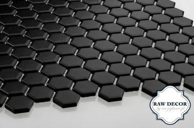 kafelki heksagonalne mozaika