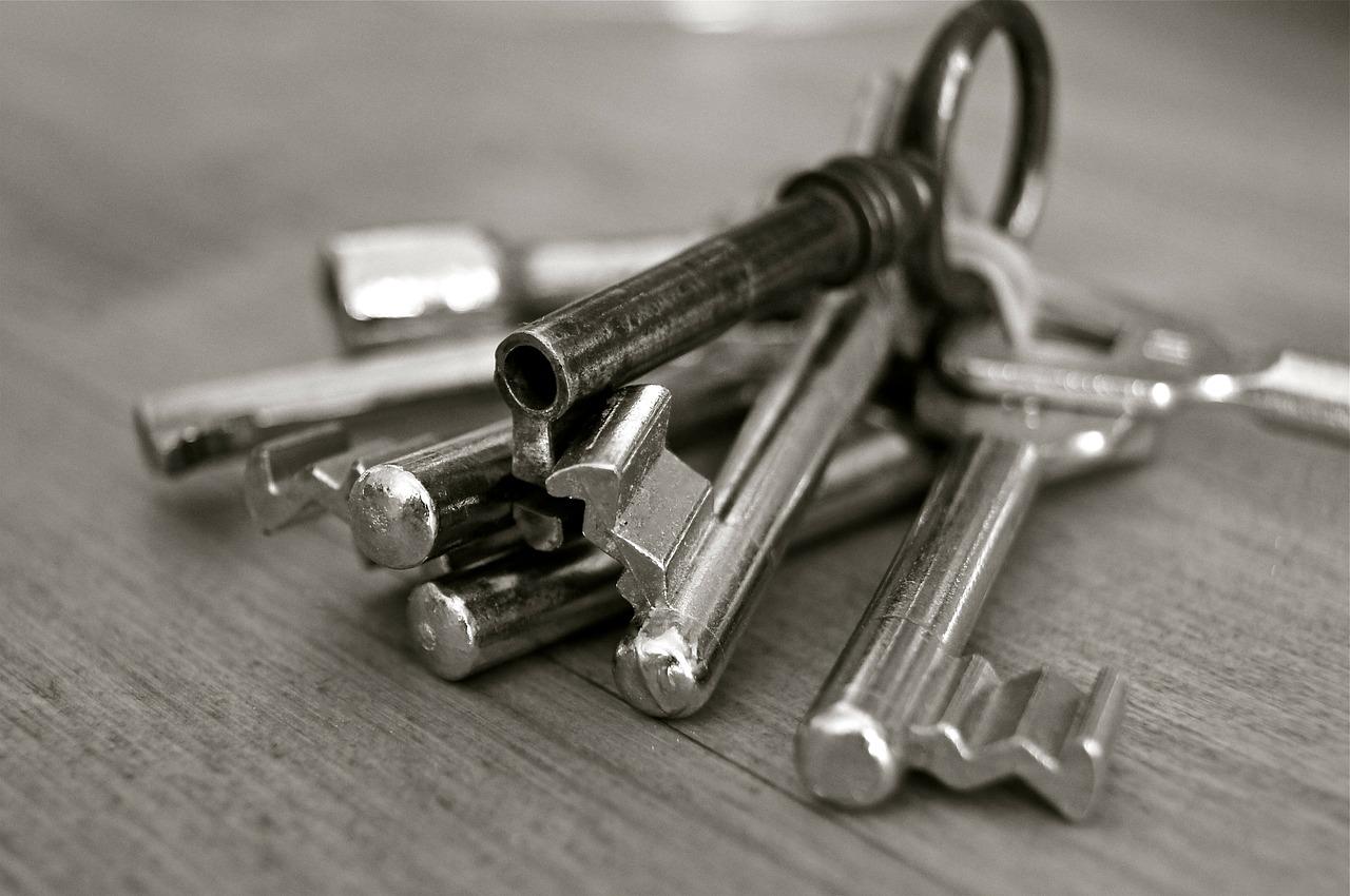 klucze do zamka