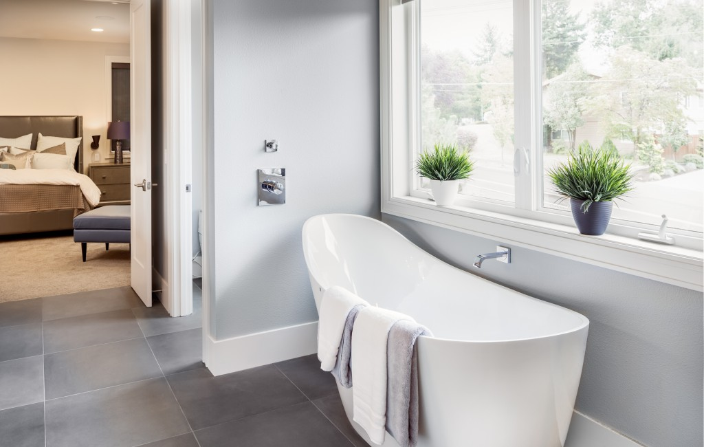 Pastelowa łazienka w nowoczesnym stylu – nowa odsłona delikatnych barw we wnętrzach