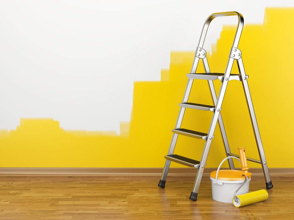 Farba lateksowa żółta